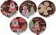 Blister Decorado com Transfer para Chocolate Pirulito de Natal 5cm BLN0049 Stalden Rizzo Confeitaria - Imagem 1
