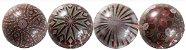Blister Decorado com Transfer para Chocolate Bola de Natal 7cm BLN0071 Stalden Rizzo Confeitaria - Imagem 2