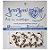 Confeitos Comestíveis Bengalinha Branca e Vermelha Ref. 5N 8 unidades Jeni Joni Rizzo Confeitaria - Imagem 1