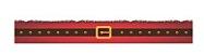 Cinta Mini Panetone Cinto Noel com 5 un. Erika Melkot Rizzo Confeitaria - Imagem 1