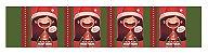 Cinta Mini Panetone Menina com 5 un. Erika Melkot Rizzo Confeitaria - Imagem 1