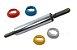 Rolo de Massa Cromado com Regulador de Altura 40 cm Anodilar Rizzo Confeitaria - Imagem 1