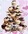 Suporte para Cupcake 30cm x 28,5cm Rizzo Confeitaria - Imagem 1