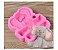 Molde de Silicone Elefante S462 Molds Planet Rizzo Confeitaria - Imagem 1