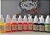 Corante Colorê Óleo para Pintura Kit 3 Neon com 9 cores Lully Rizzo Confeitaria - Imagem 1