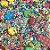Fairy Sprinkles Lego Especial 150 gr Rizzo Confeitaria - Imagem 2