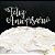 Topo de Bolo Feliz Aniversário Glitter Prata Sonho Fino Rizzo Confeitaria - Imagem 1