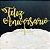 Topo de Bolo Feliz Aniversário Glitter Dourado Sonho Fino Rizzo Confeitaria - Imagem 3