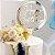 Topo de Bolo Happy Birthday Dourado Vivarte Rizzo Confeitaria - Imagem 1