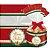 Saco para Panetone Decorado Boas Festas Cromus Natal Rizzo Confeitaria - Imagem 1