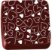 Transfer para Chocolate Coraçãozinho TRG 8040 01 Stalden Rizzo Confeitaria - Imagem 1