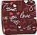 Transfer para Chocolate Love You TRG 8070 18 Stalden Rizzo Confeitaria - Imagem 1