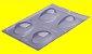 Forma Especial Ovo Liso 50g Porto Formas Cod 30 Rizzo Confeitaria - Imagem 1
