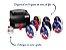 Fita de Cetim  para personalizar Progresso Crie sua Fita -  CFS007 Azul bebe 30mm c/50mts  Rizzo Confeitaria - Imagem 2