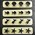 Kit Réguas Miniaturas IIII com 4 un. - Blue Star - Imagem 1