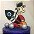 Topo de Bolo Astronauta Glitter Sonho Fino Rizzo Confeitaria - Imagem 1