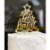 Topo de Bolo Feliz Natal Espelhado Dourado Sonho Fino Rizzo Confeitaria - Imagem 1