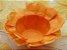 Forminha para Doces Floral em Seda Laranja - 40 unidades - Decorart - Imagem 1