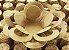 Forminha para Doces Floral Loá Colorset Kraft (Capuccino) - 40 unidades - Decorart - Imagem 1