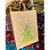 Sacola de Papel Kraft - Merry Christmas - Pinheiro Verde com Detalhes em Dourado - Imagem 2
