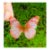 Enfeite decorativo Borboleta Tecido Rosa Mesclado - 10uns - Rizzo Confeitaria - Imagem 1