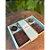 Caixa tabletes e brigadeiros chevron verde com 10 un. Cromus Rizzo Confeitaria - Imagem 1