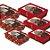 Caixa Practice para Meio Ovo Chocolate Vermelho Sortido - 06 unidades - Cromus Páscoa  - Imagem 1