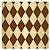 Folha para Ovos de Páscoa Pierrot Ouro Marrom 69x89cm - 05 unidades - Cromus Páscoa - Rizzo - Imagem 1