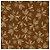 Folha para Ovos de Páscoa Metalizado Sabor Marrom Ouro 69x89cm - 05 unidades - Cromus Páscoa  - Imagem 1