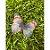 Enfeite decorativo Borboleta Tecido Azul Mesclado - 10uns - Rizzo Confeitaria - Imagem 1