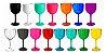 Taça de Gin Colorida Leitosa - 600ml - 01 unidade -  Rizzo Festas - Imagem 1