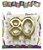 Vela 80 anos Dourada - Mundo Bizarro - Imagem 2