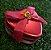 Enfeite Latinha de Metal Vermelho - 06 unidades - Rizzo - Imagem 1