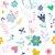 Adesivo de Parede - Floral Corações - Imagem 2
