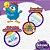 Kit 6 Fraldas BabySec GALINHA PINTADINHA Premium - P - 120 unids - Imagem 5