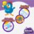 Kit 04 Fraldas BabySec GALINHA PINTADINHA Premium -M-136 unids - Imagem 3