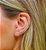 Ear Cuff Fio Chato Prata 925 - Imagem 3