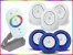 Kit Iluminação Piscina Enertech LED RGB 3x18 Watts - 12 cm - Imagem 8