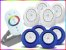 Kit Iluminação Piscina Enertech LED RGB 4x18 Watts - 12 cm - Imagem 4