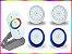 Kit Iluminação Piscina Enertech LED RGB 2x18 Watts - 8 cm - Imagem 4