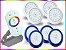 Kit Completo Iluminação Piscina Enertech LED RGB 4x18 Watts - 8 cm - Imagem 4