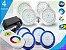 Kit Completo Iluminação Piscina Enertech LED RGB 4x18 Watts - 8 cm - Imagem 1