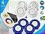 Kit Completo Iluminação Piscina Enertech LED RGB 4x9 Watts - 12 cm - Imagem 1