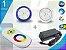 Kit Completo Iluminação Piscina Enertech LED RGB 1x9 Watts - 8 cm - Imagem 1