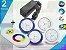 Kit Completo Iluminação Piscina Enertech LED RGB 2x9 Watts - 8 cm - Imagem 1