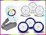 Kit Iluminação Piscina Enertech LED RGB 3x9 Watts - 8 cm - Imagem 4