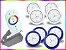 Kit Iluminação Piscina Enertech LED RGB 4x9 Watts - 8 cm - Imagem 4