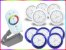 Kit Iluminação Piscina LED RGB 5x9 Watts - 8 cm - Imagem 1