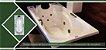 Banheira de Hidromassagem Individual 180x80x43 - Violeta - Imagem 2