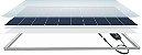Painel Solar Fotovoltaico Policristalino 370Wp - Produção Nacional 25 Anos de Garantia - Imagem 2